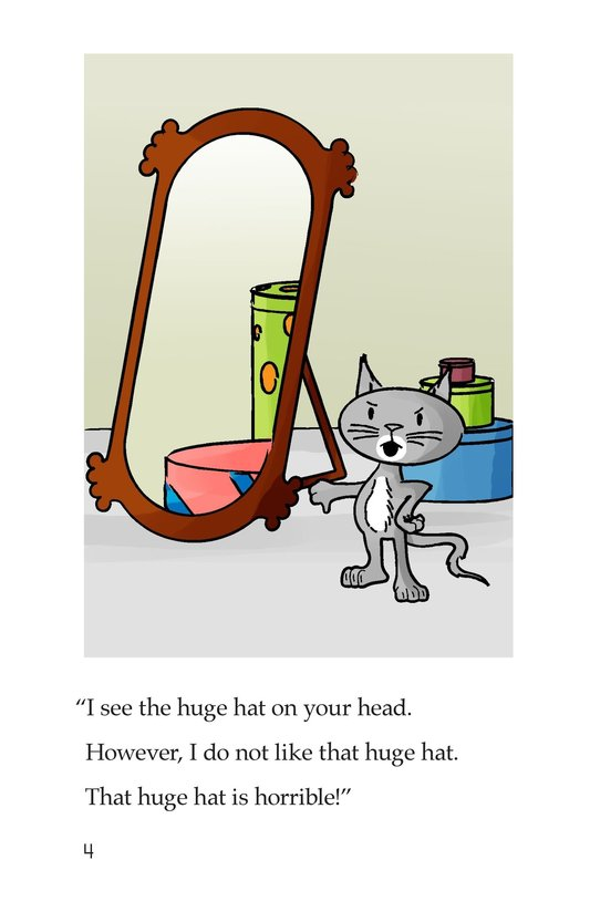 Book Preview For Happy Cat and the Hats Page 4