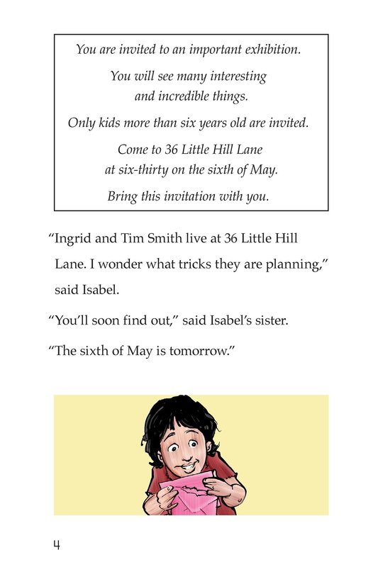 Book Preview For Isabel's Invitation Page 4