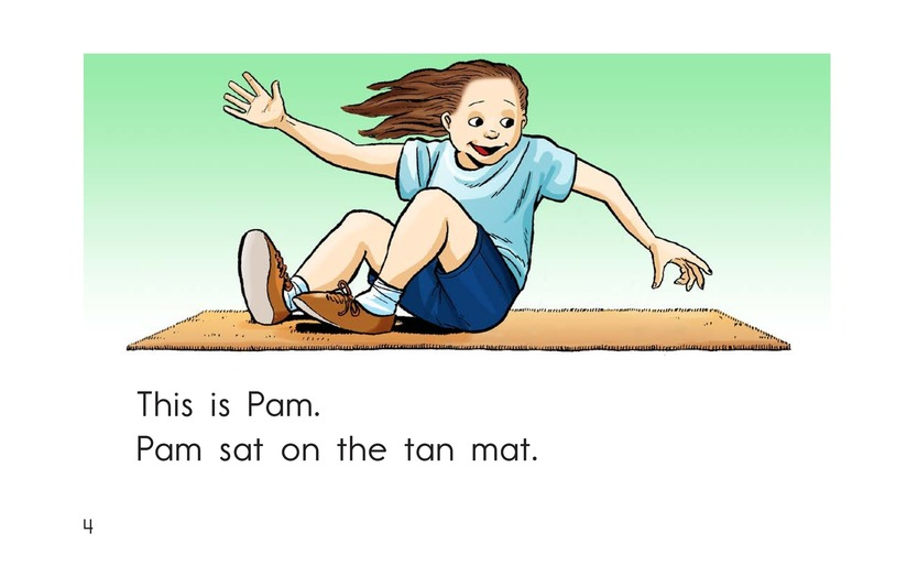 Book Preview For A Tap and a Pat Page 4