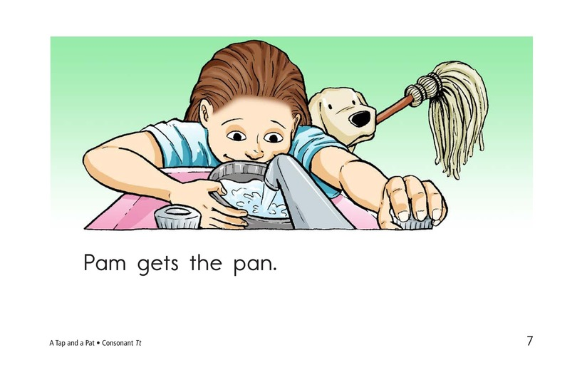 Book Preview For A Tap and a Pat Page 7