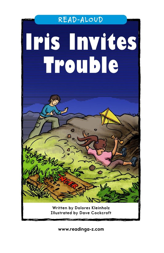 Book Preview For Iris Invites Trouble Page 1