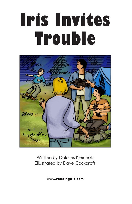 Book Preview For Iris Invites Trouble Page 2
