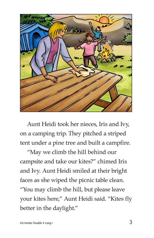 Book Preview For Iris Invites Trouble Page 3