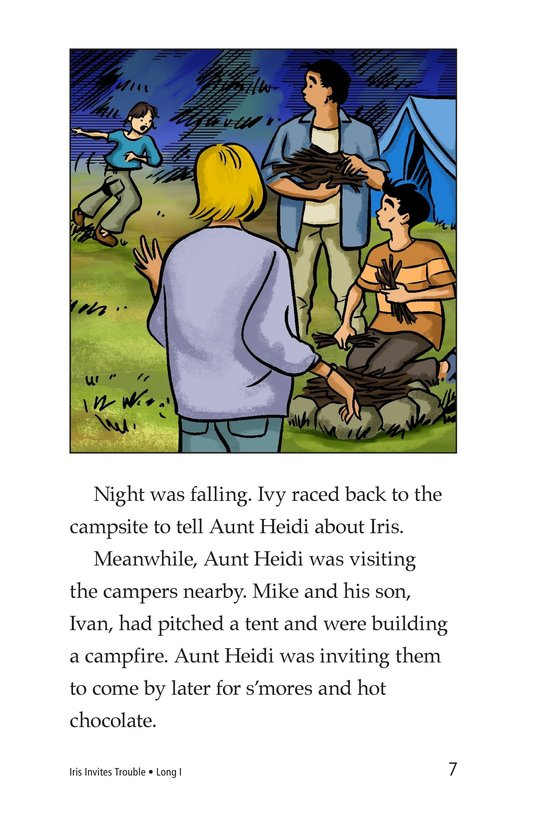 Book Preview For Iris Invites Trouble Page 7