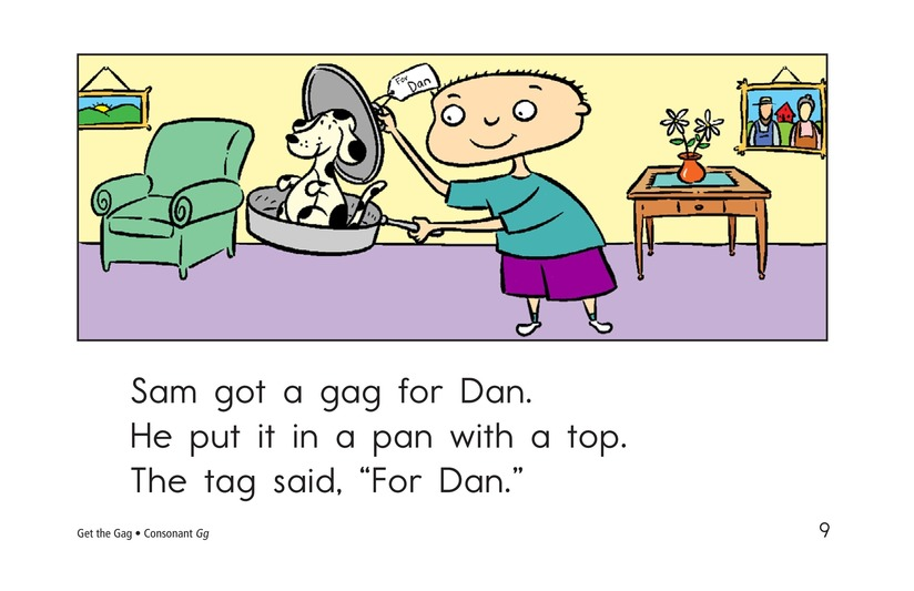 Book Preview For Get the Gag Page 9