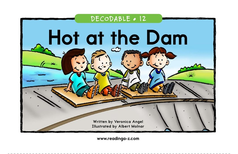 Book Preview For Hot at the Dam Page 1