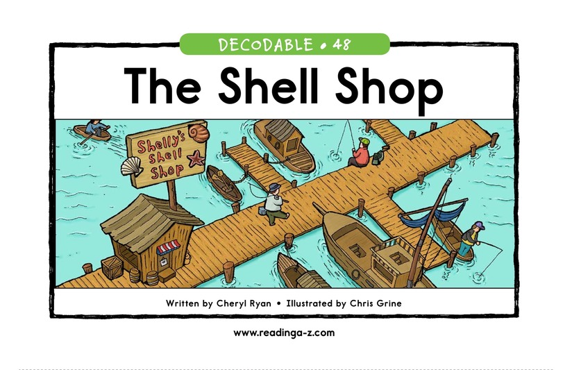 Book Preview For The Shell Shop Page 1