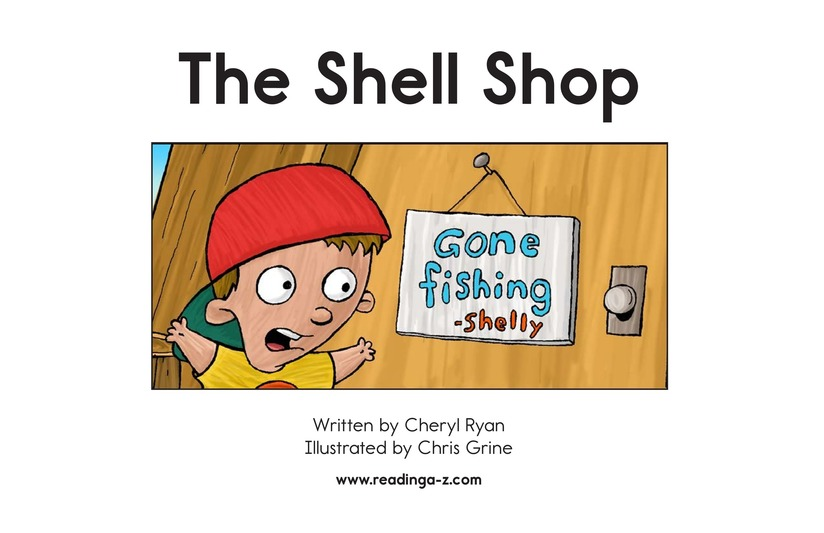 Book Preview For The Shell Shop Page 2