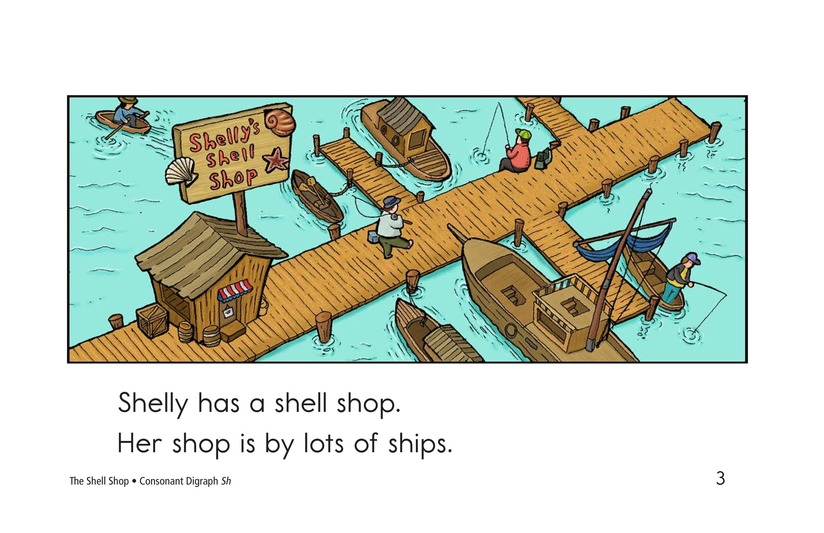 Book Preview For The Shell Shop Page 3