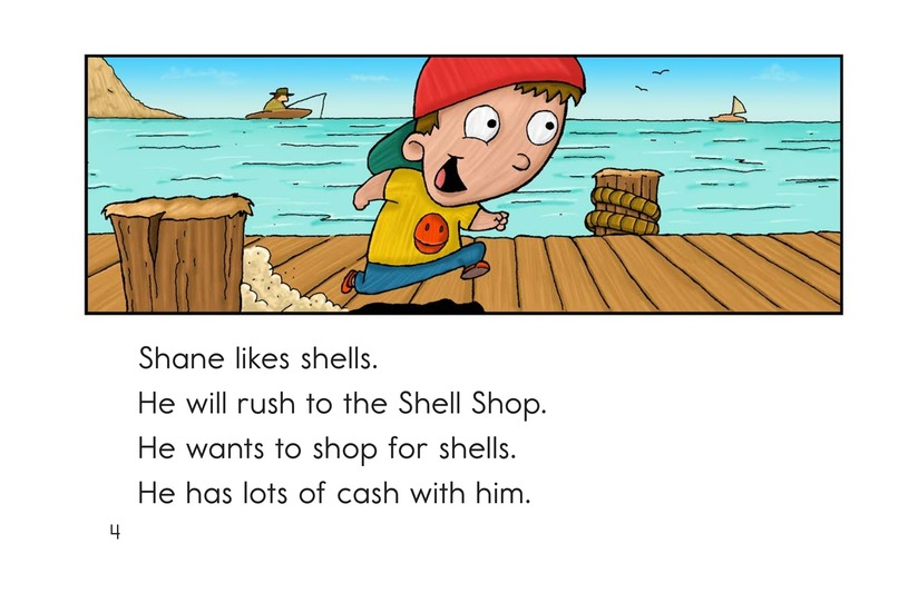 Book Preview For The Shell Shop Page 4