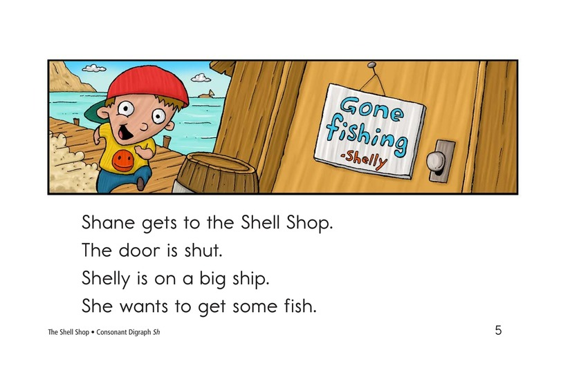 Book Preview For The Shell Shop Page 5