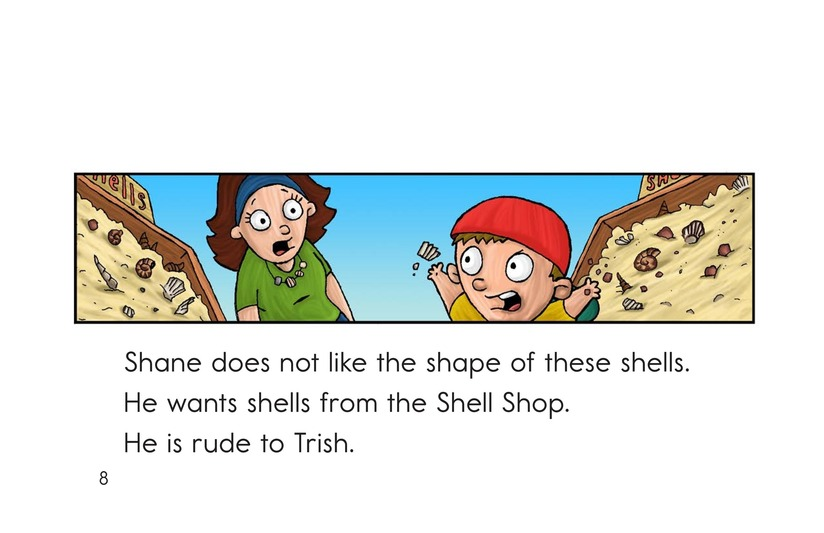 Book Preview For The Shell Shop Page 8