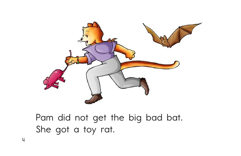 Book Preview For Big Bad Bat Page 4