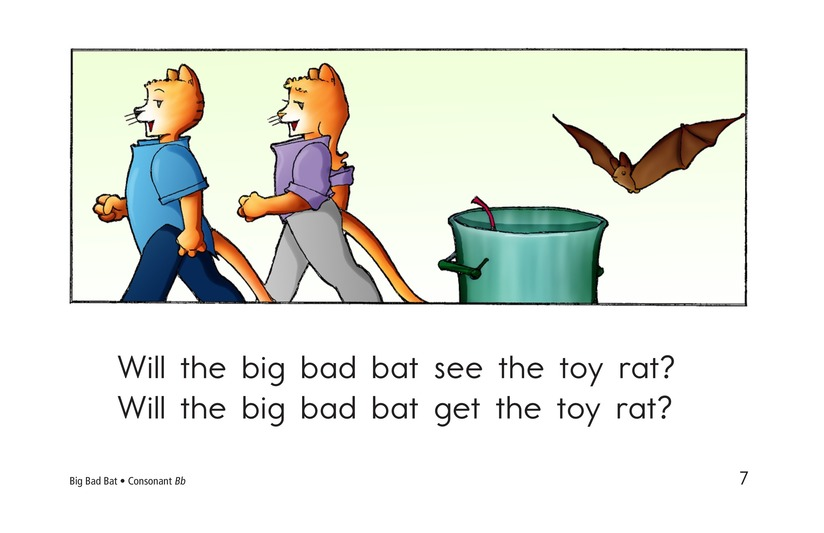 Book Preview For Big Bad Bat Page 7