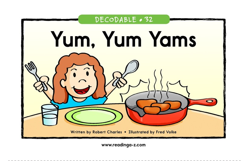 Book Preview For Yum, Yum Yams Page 1