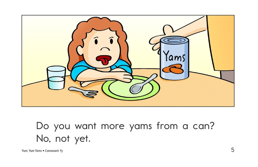 Book Preview For Yum, Yum Yams Page 5