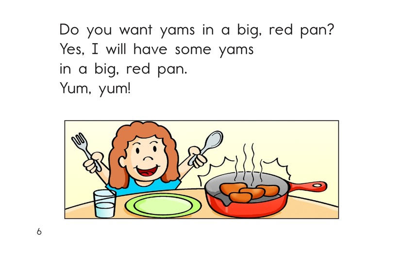 Book Preview For Yum, Yum Yams Page 6