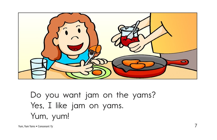 Book Preview For Yum, Yum Yams Page 7