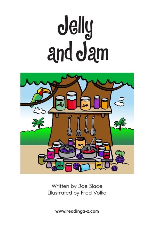Book Preview For Jelly and Jam Page 2