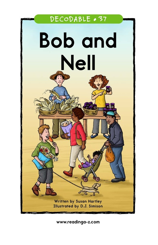 Book Preview For Bob and Nell Page 1