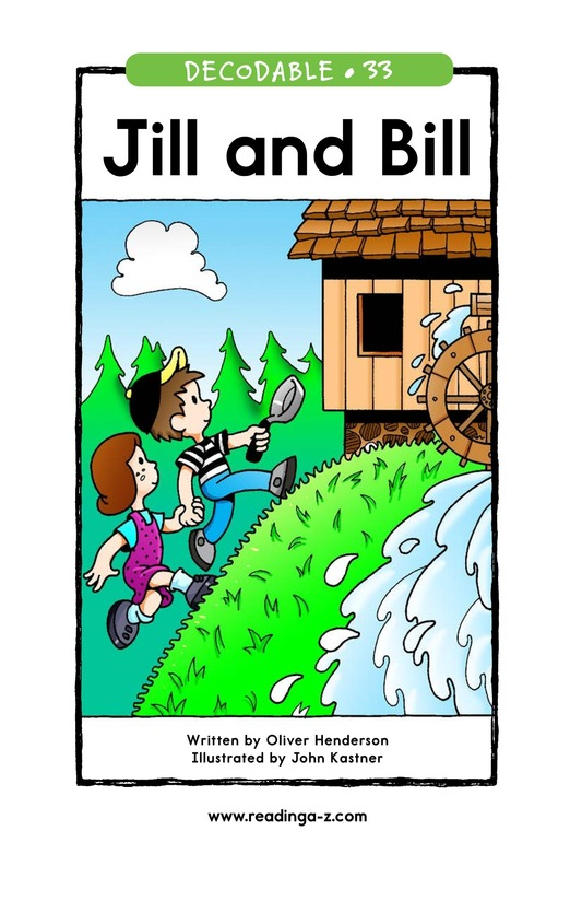 Book Preview For Jill and Bill Page 1