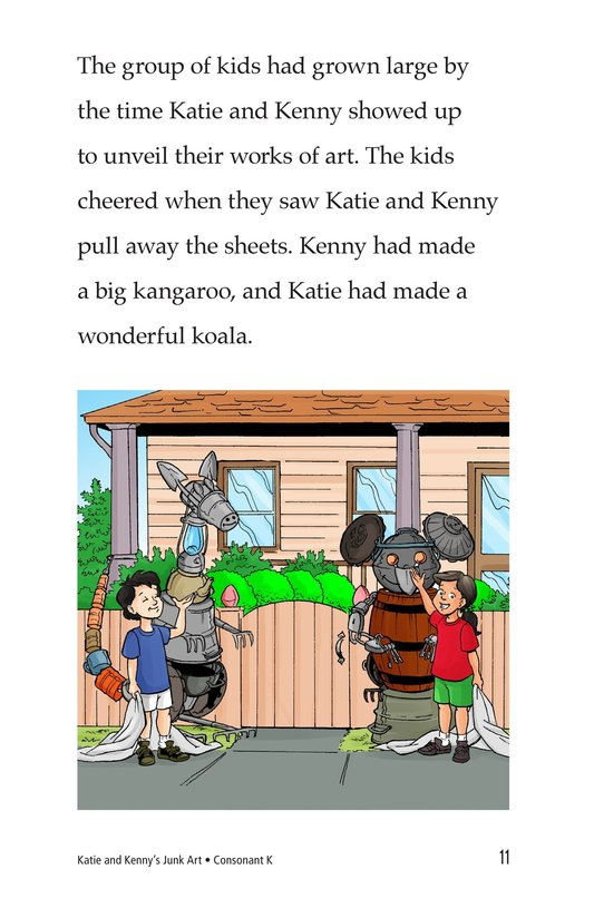 Book Preview For Katie and Kenny's Junk Art Page 11
