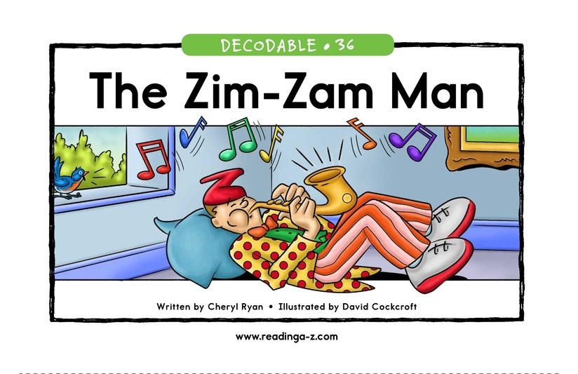 Book Preview For The Zim-Zam Man Page 1