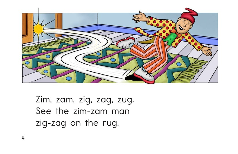 Book Preview For The Zim-Zam Man Page 4