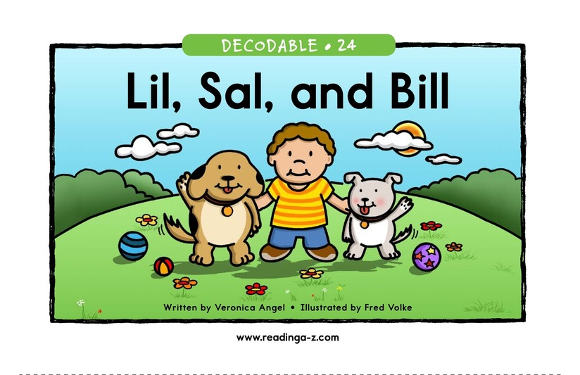 Book Preview For Lil, Sal, and Bill Page 1