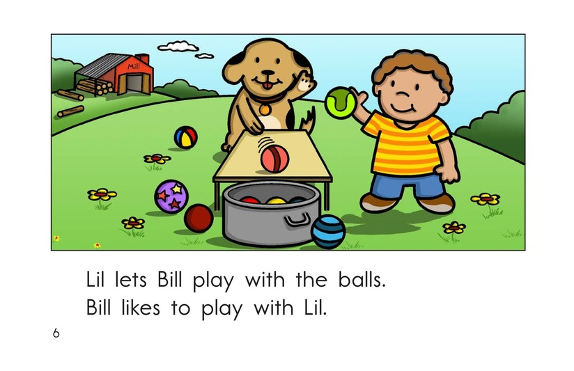 Book Preview For Lil, Sal, and Bill Page 6