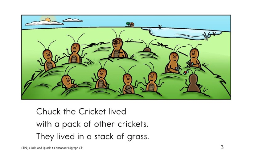 Book Preview For Click, Cluck, and Quack Page 3