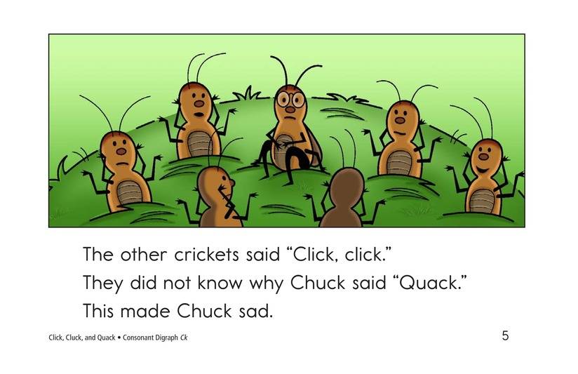 Book Preview For Click, Cluck, and Quack Page 5