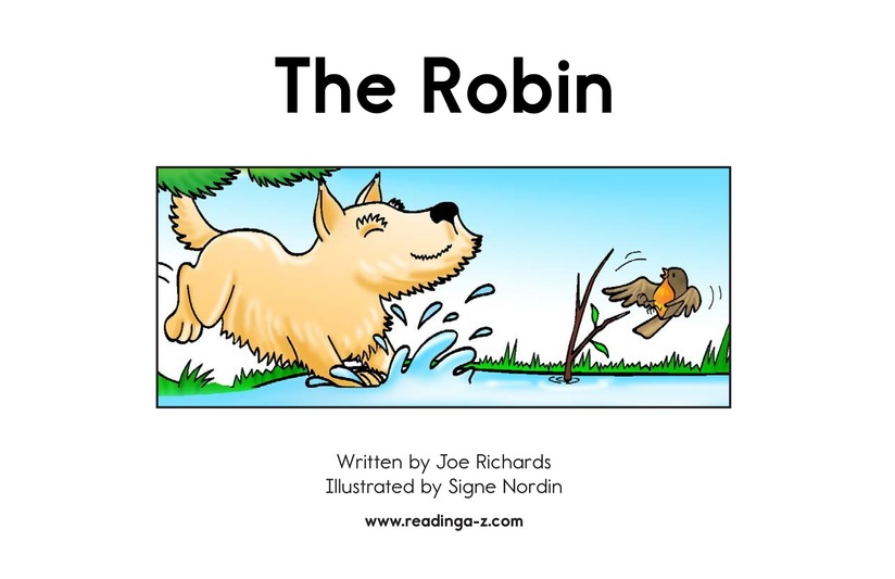 Book Preview For The Robin Page 2