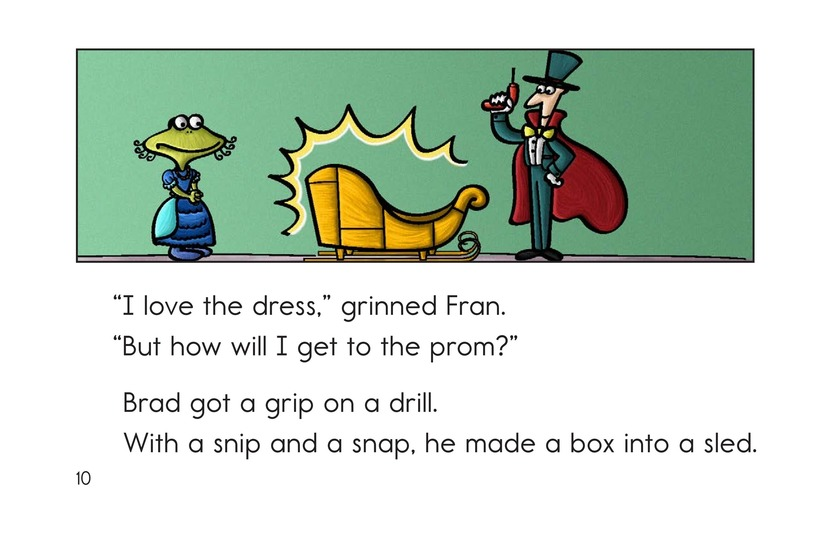 Book Preview For Fran Goes to the Prom Page 10
