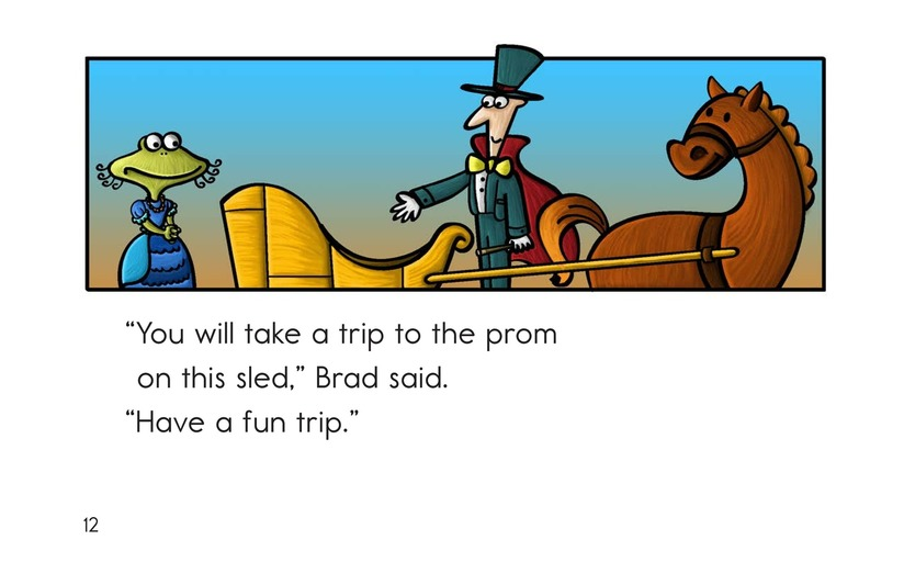 Book Preview For Fran Goes to the Prom Page 12