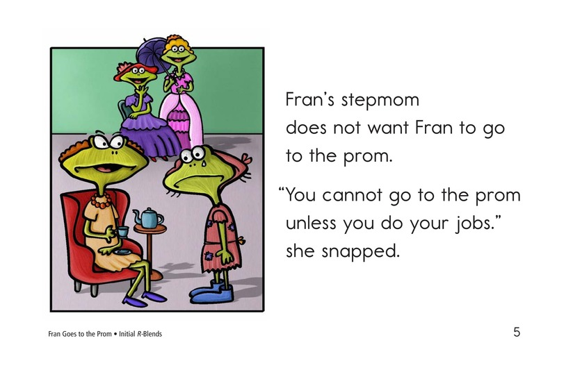 Book Preview For Fran Goes to the Prom Page 5