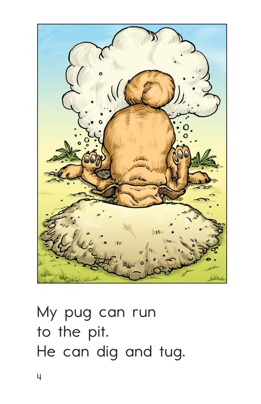 Book Preview For My Pug Has Fun Page 4