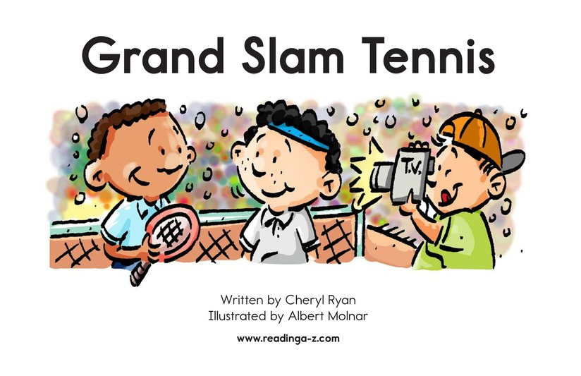 Book Preview For Grand Slam Tennis Page 2