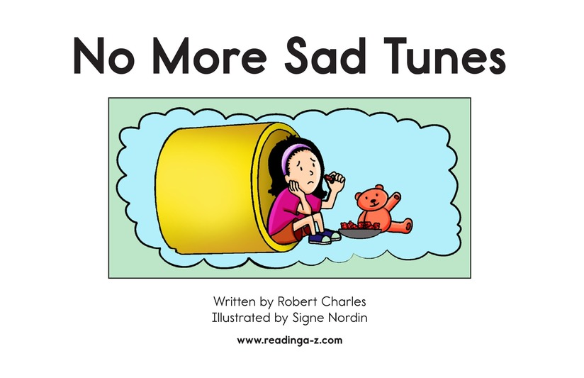 Book Preview For No More Sad Tunes Page 2