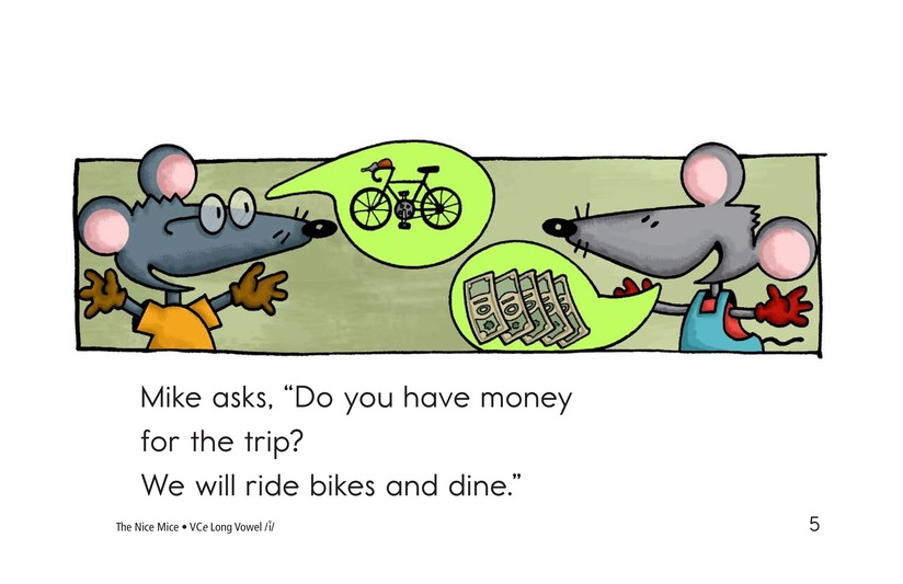 Book Preview For The Nice Mice Page 5