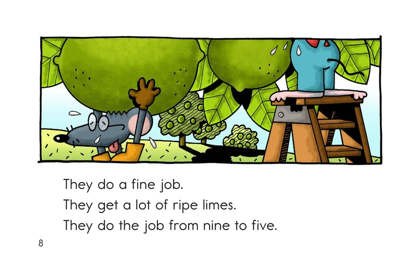 Book Preview For The Nice Mice Page 8