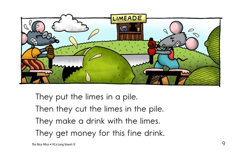 Book Preview For The Nice Mice Page 9