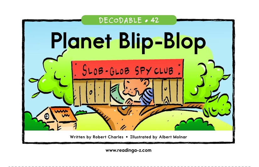 Book Preview For Planet Blip Blop Page 1