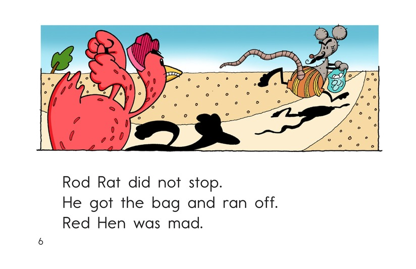 Book Preview For Red Hen and Rod Rat Page 6