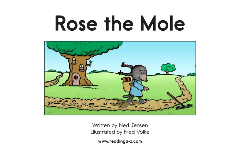 Book Preview For Rose the Mole Page 2