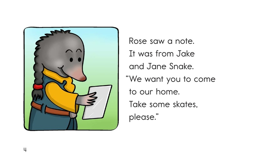 Book Preview For Rose the Mole Page 4