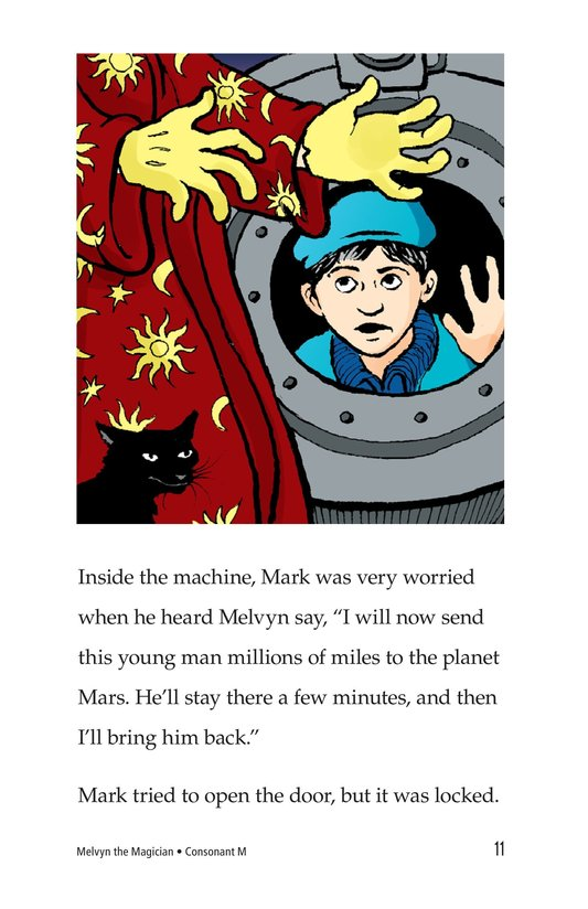 Book Preview For Melvyn the Magician Page 11