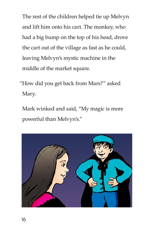 Book Preview For Melvyn the Magician Page 16