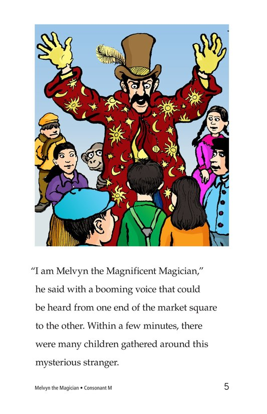 Book Preview For Melvyn the Magician Page 5