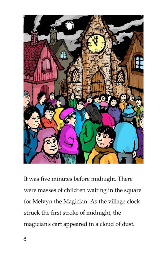 Book Preview For Melvyn the Magician Page 8